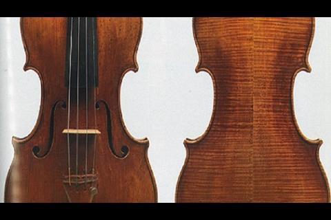 Aranyi Stradivarius violin